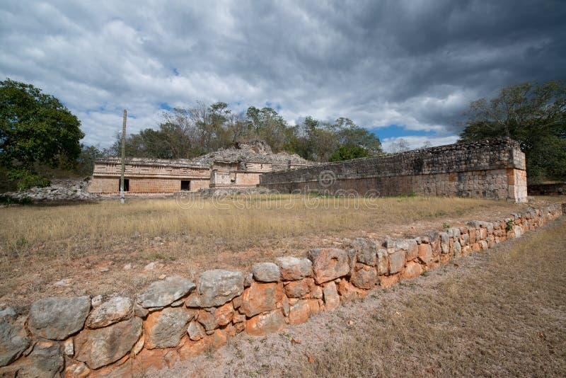 Labna mayan ruins. Ancient mayan arch, Labna mayan ruins, Yucatan, Mexico royalty free stock photography