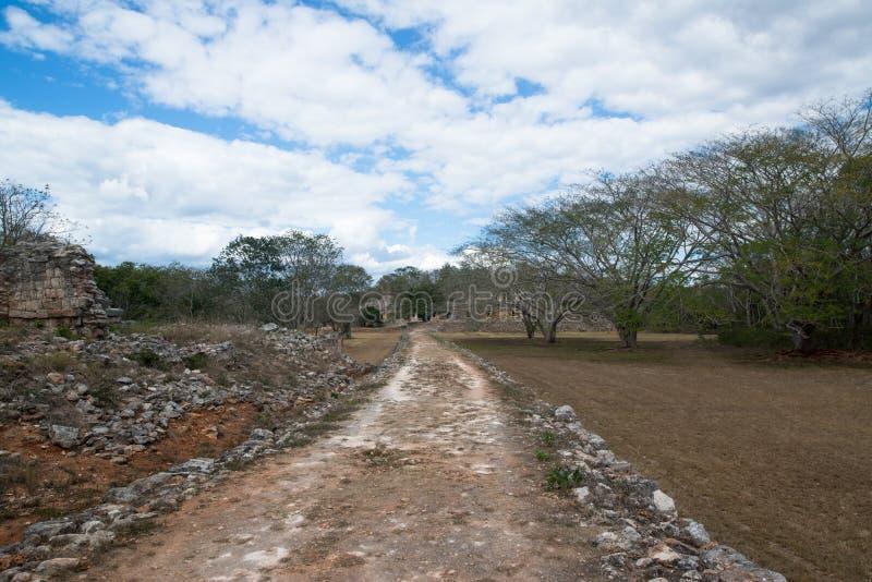 Labna mayan ruins. Ancient mayan arch, Labna mayan ruins, Yucatan, Mexico stock images