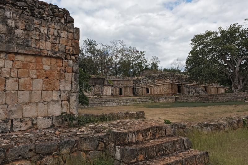 Labna,Mesoamerican archaeological site and ceremonial center of the pre-Columbian Maya civilization, Yucatan, Mexico.  stock photography