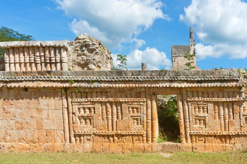 Labna archaeological site in Yucatan Peninsula, Mexico. Labna a Mesoamerican archaeological site and ceremonial center of the pre-Columbian Maya civilization royalty free stock image