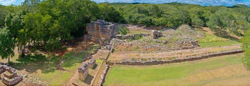 Labna archaeological site in Yucatan Peninsula, Mexico. Labna a Mesoamerican archaeological site and ceremonial center of the pre-Columbian Maya civilization stock photo