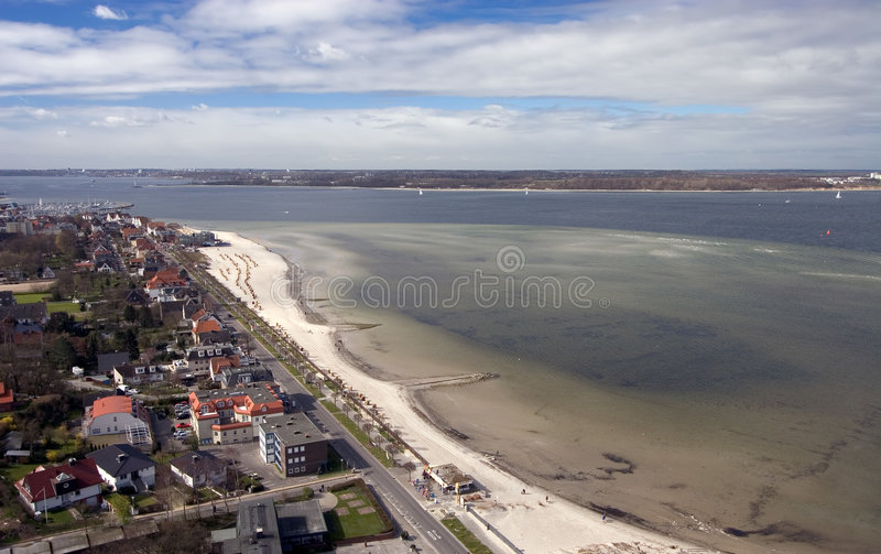 Download Laboe from above stock photo. Image of deutschland, town - 2334810