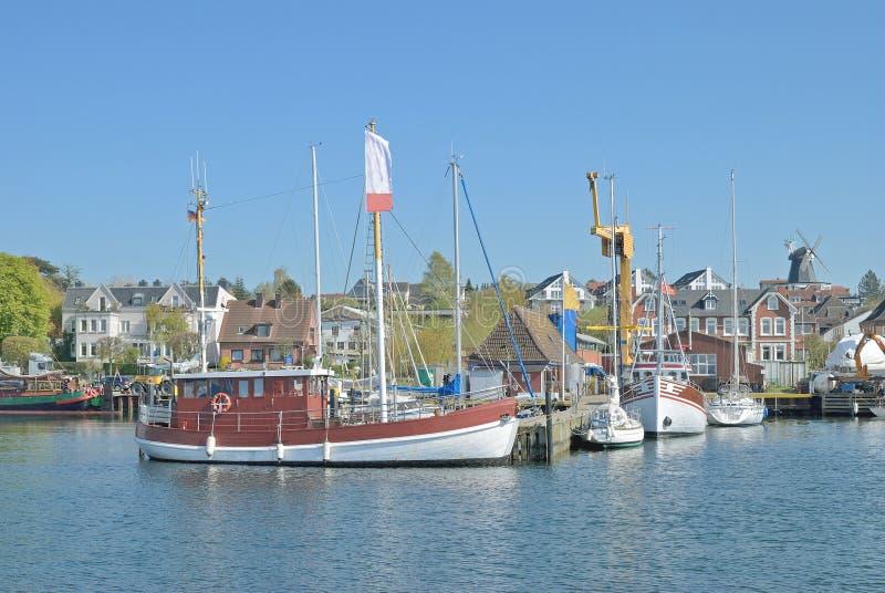 Laboe baltiskt hav, Schleswig-Holstein, Tyskland arkivbilder