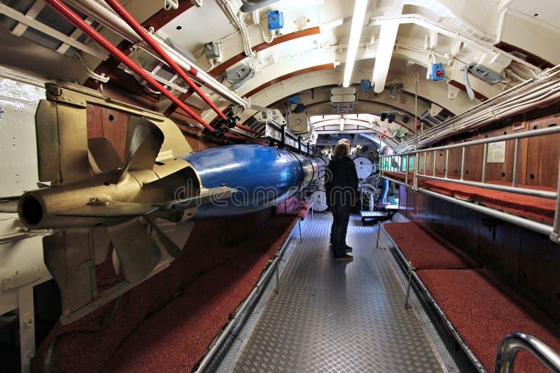 Laboe submarine royalty free stock photos