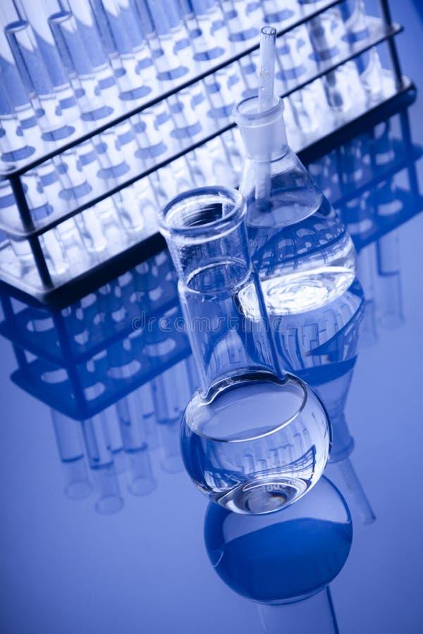 Labolatory Flasche-Hexeflüssigkeit lizenzfreie stockfotos