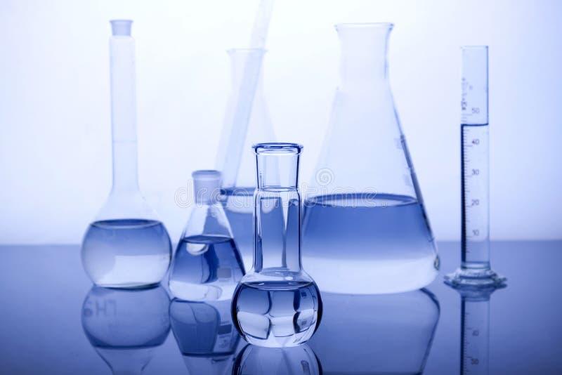Labolatory Glaswaren stockfotografie