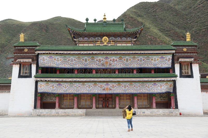 Labolengsi喇嘛寺院 免版税库存照片