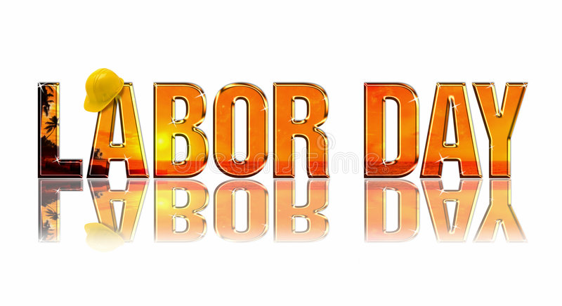 Download Labor Day stock illustration. Image of relax, lettering - 3018241