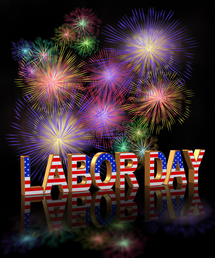 Download Labor Day 3D Graphic stock illustration. Illustration of colorful - 6098073