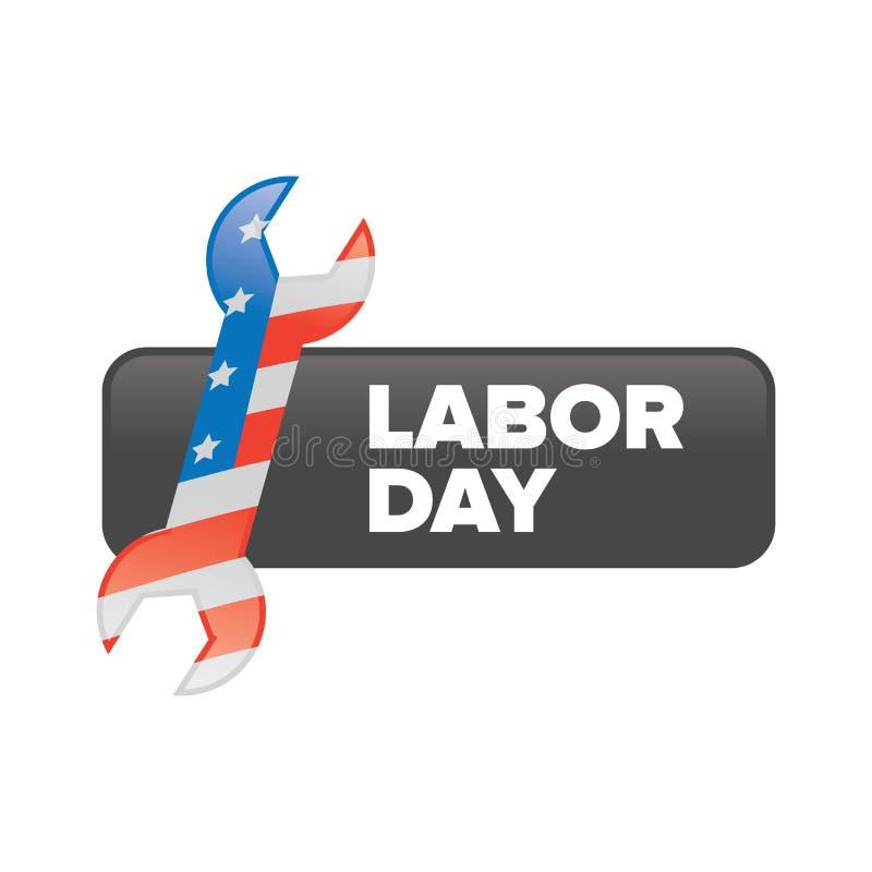 Labor day banner vector illustration