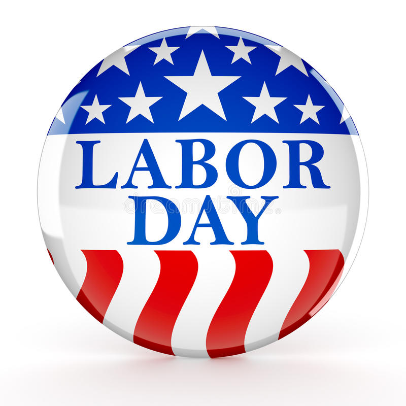 Download Labor Day Button Stock Illustration - Image: 98761248