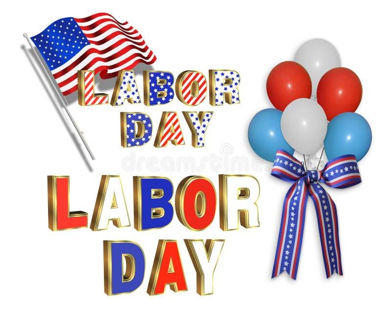 Download Labor Day Clip Art Illustrations Stock Illustration - Illustration: 14997368
