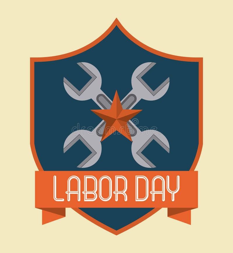 Labor day design vector illustration