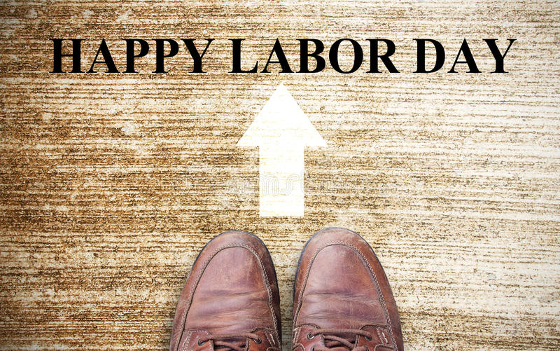 Labor Day is a federal holiday of United States America stock photos
