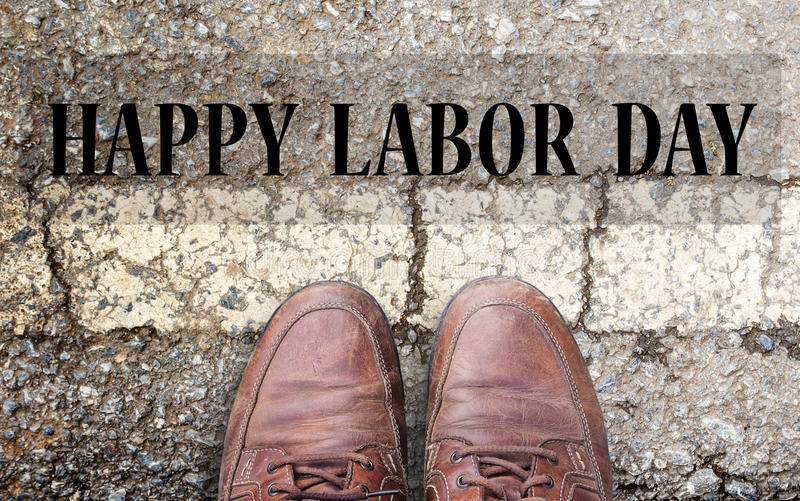 Labor Day is a federal holiday of United States America royalty free stock image