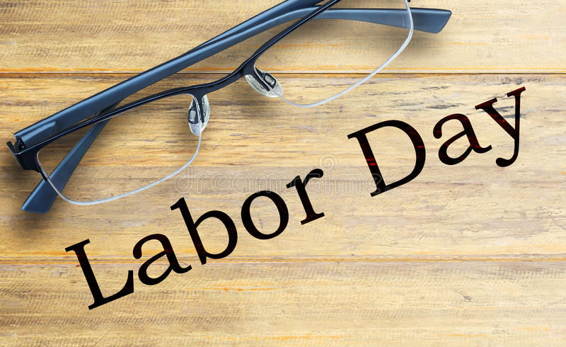 Labor Day is a federal holiday of United States America royalty free stock photos