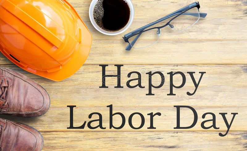 Labor Day is a federal holiday of United States America royalty free stock images