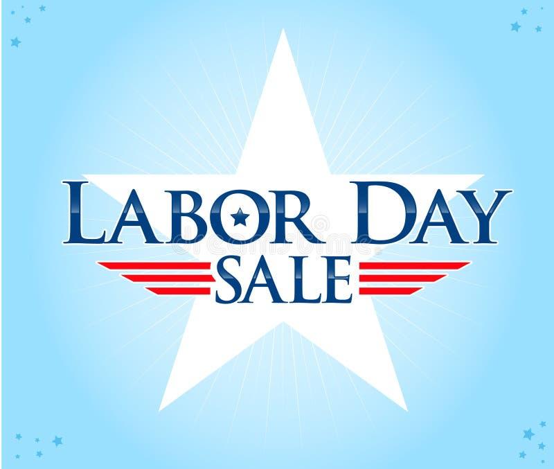 Labor Day Sale royalty free illustration