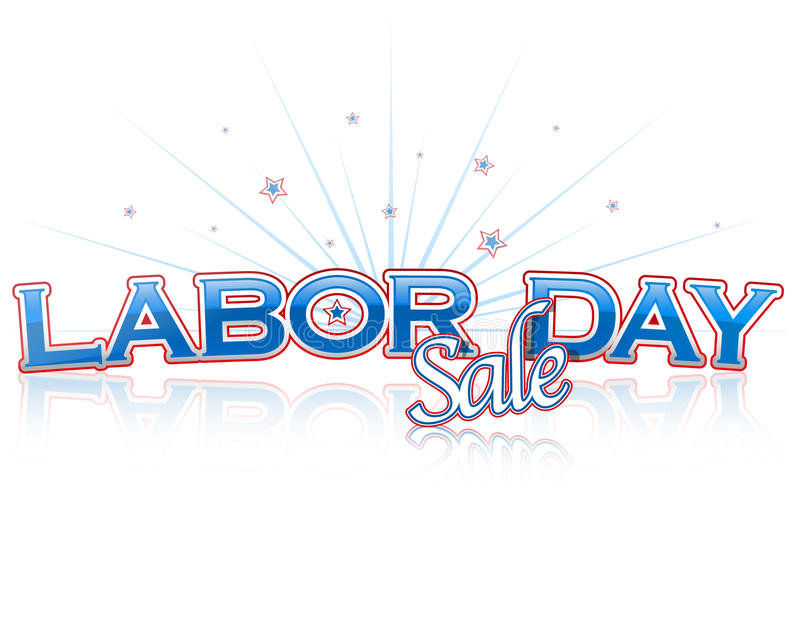 Download Labor day sale stock vector. Image of poster, retail - 15644238