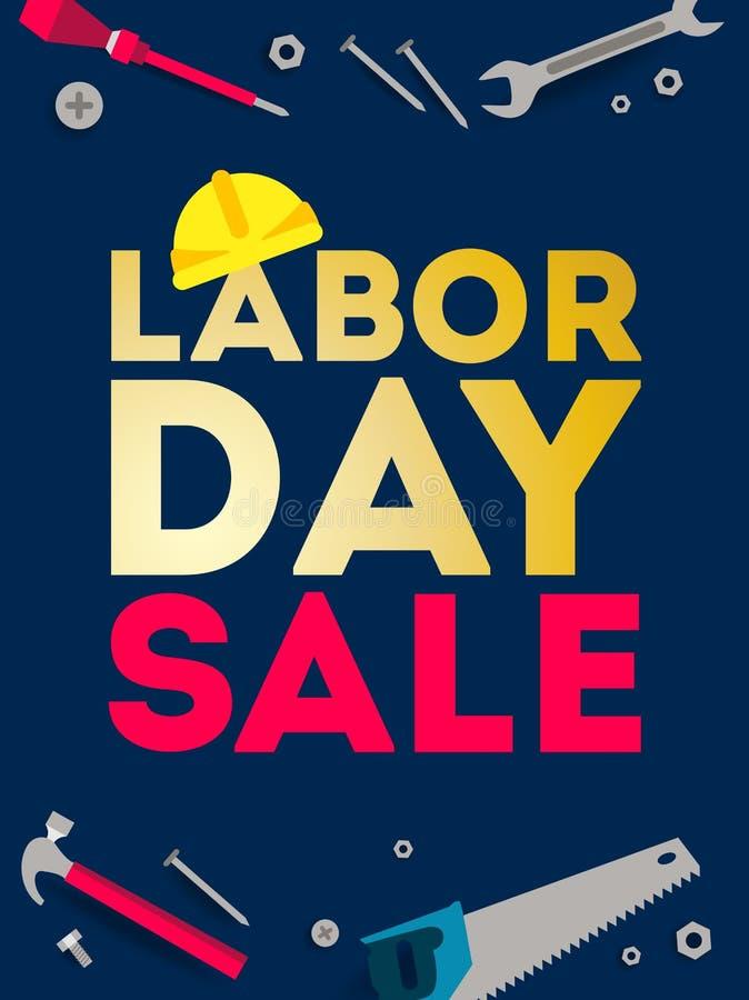 Labor Day sale. vector illustration