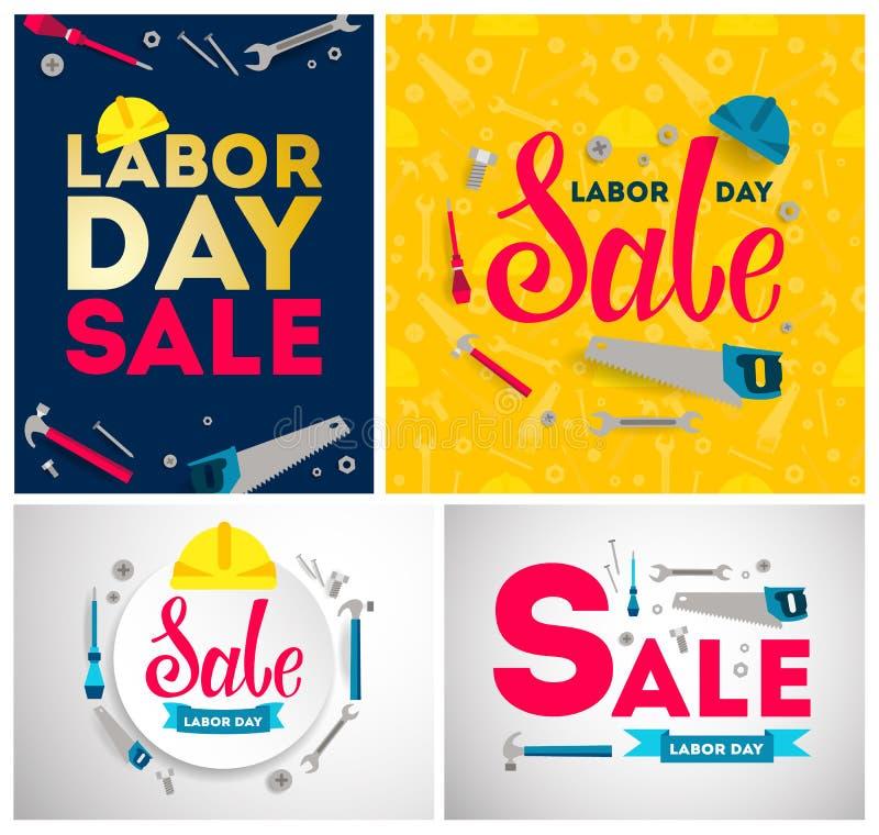 Labor Day sale. royalty free illustration