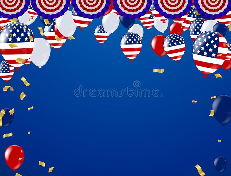 Labor day sale promotion advertising banner template. American l. Abor day wallpaper.voucher discount vector illustration
