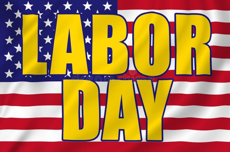 Labor Day royalty free illustration