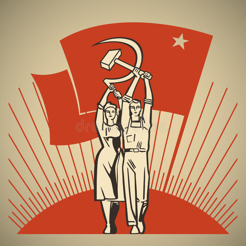 Labor stock illustration