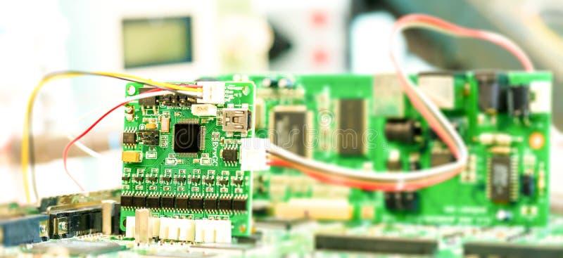 Labor von Forschungsmikroelektronik lizenzfreie stockfotografie