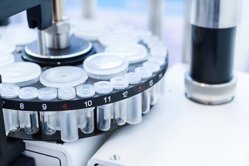 Laborancka automatyczna maszyna zdjęcie stock