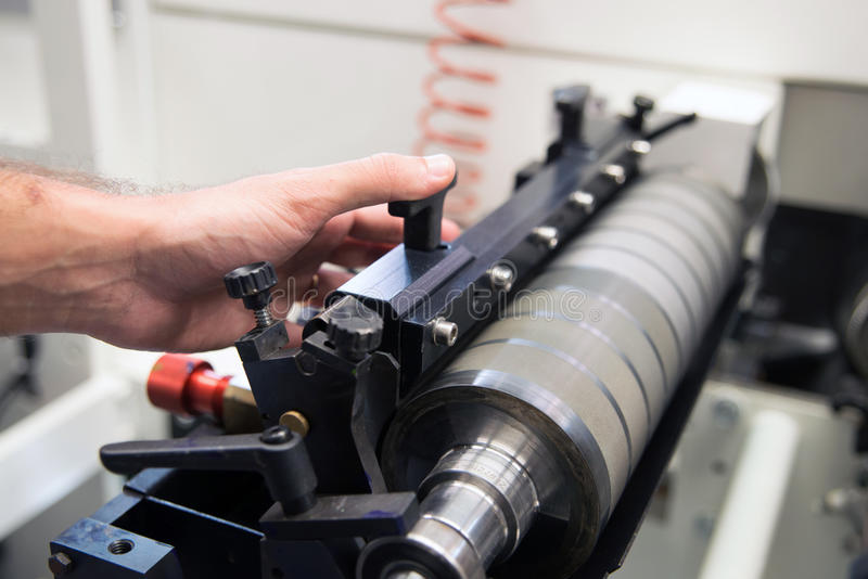 Laboratório de pesquisa da nanotecnologia foto de stock