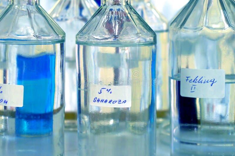 Laboratório de química imagens de stock royalty free