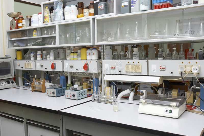 Laboratoire photos stock