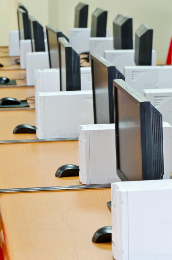 Laboratoire d'ordinateur photos libres de droits