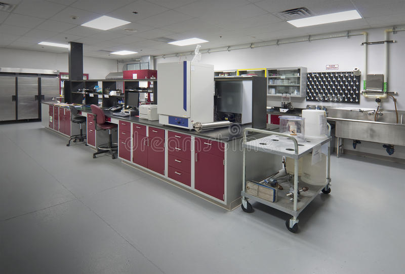 Laboratoire de biologie photo stock