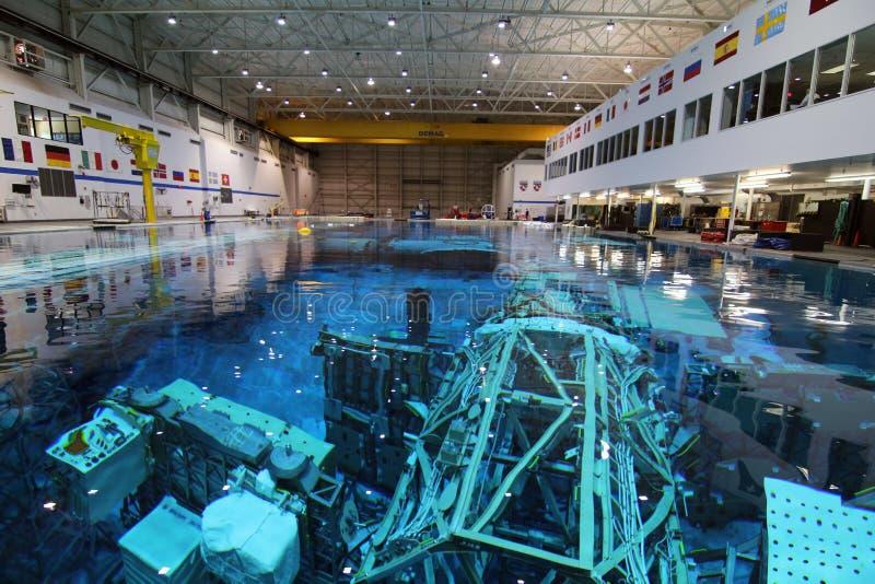 Laboratoire de flottabilité neutre - Johnson Space Center images stock