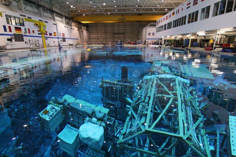 Laboratoire de flottabilité neutre - Johnson Space Center photos stock