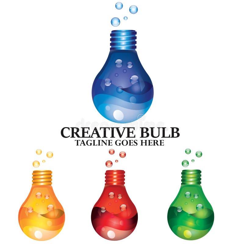 Laboratoire de sciences médicales chimique créatif d'idée de concept d'ampoule photographie stock libre de droits