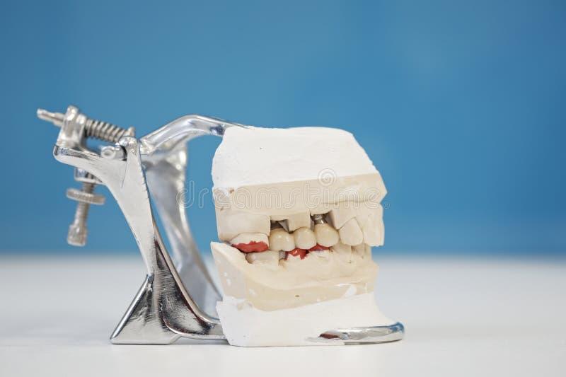 Laboratoire dentaire photo libre de droits