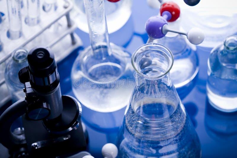 Download Laboratoire en verre photo stock. Image du chimie, glaces - 8669706