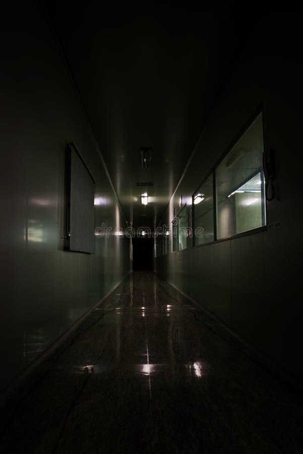 Laboratoire rampant de fantôme photos stock