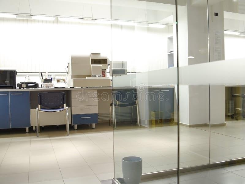 Laboratorio fotografia stock