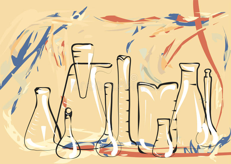 Laboratorio de ciencia libre illustration
