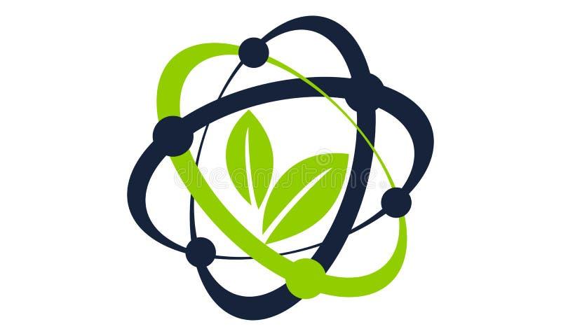 Laboratorio de la tecnología de la ciencia de Eco libre illustration