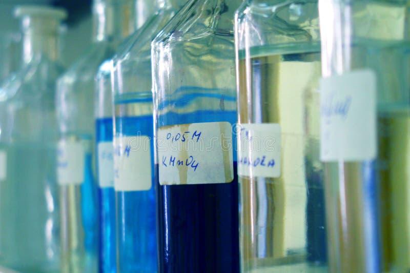 Laboratorio de química imágenes de archivo libres de regalías