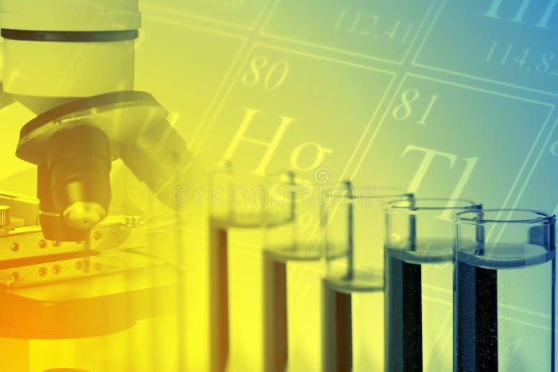 Laboratorio de química imagen de archivo