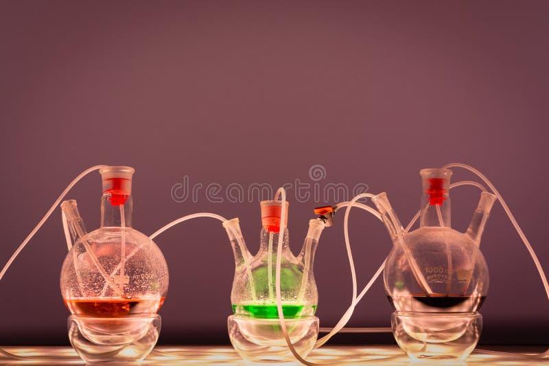 Laboratorio de química fotos de archivo libres de regalías