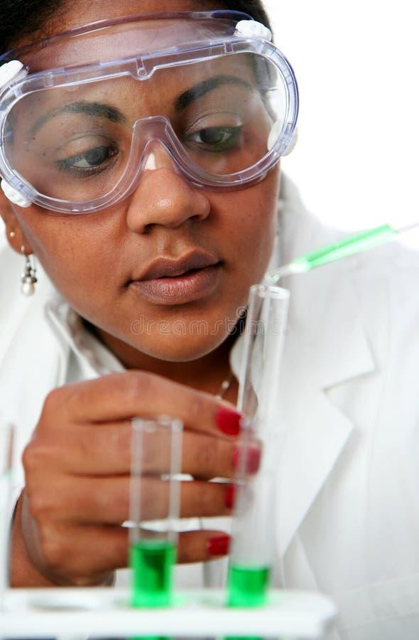 Laboratorio di chimica fotografia stock