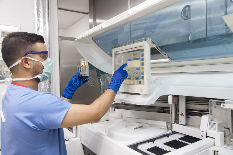 Laboratorio médico imágenes de archivo libres de regalías