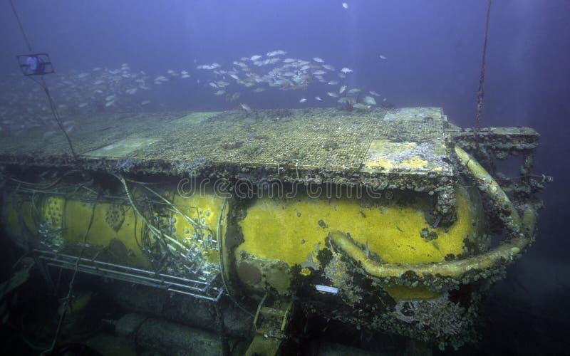 Laboratorio subacqueo del Aquarius - imposti il Largo Florida fotografie stock libere da diritti